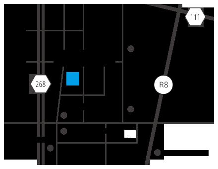 福井支店の地図
