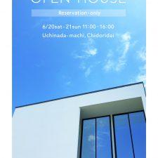 OPEN HOUSE 2020.6.20(sat) -.21(sun)
